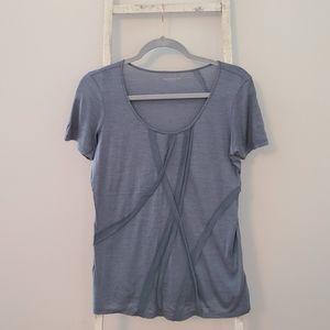 Eileen Fisher♡ Silk Blend scoopneck top